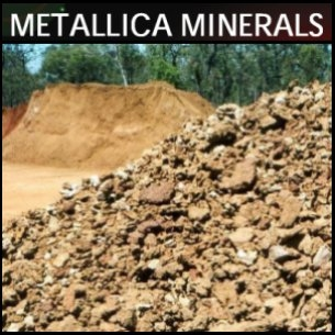 Metallica Minerals Limited (ASX:MLM) Update On Investments And Cash Position