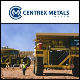 Centrex Metals Limited (ASX:CXM) said it and China's Shenyang Orient Iron & Steel (Group) Co., Ltd have signed a five year Hematite Ore Sales Agreement plus one year extension option cover 1 million tpa of Wilgerup hematite product. The long term agreement ensures that 100 per cent of its Wilgerup hematite ore is sold.