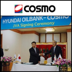 South Korea's Hyundai Oilbank Corp. and Japan's Cosmo Oil Co. (TYO:5007) will jointly set up a plant to manufacture benzene, toluene and xylene in Daesan in South Korea, said a Korean media that cited industry sources. Cosmo is expected to invest US$600 million in the joint venture, in which both companies will hold equal stakes.