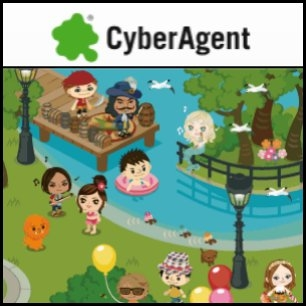 Japan's CyberAgent Inc. (TYO:4751) plans to establish a 2 billion yen fund by early next year to invest in Internet start-ups, targeting venture businesses with Internet operations on the Chinese mainland, Hong Kong, Taiwan and elsewhere. The online advertising agent will kick in some 500 million yen, with Japanese Internet-related firms and others to contribute the rest. If demand is brisk, the fund could grow to around 4 billion yen.