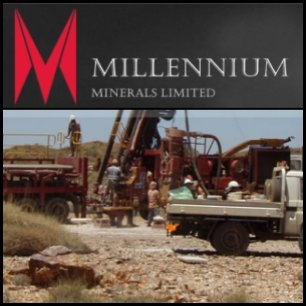 Millennium Minerals ( ASX:MOY) announced mineral resource estimates for its Otways and Little Wonder gold deposits added a further 49,900 ounces to the Nullagine gold project estimate, which now stands at 28.86 Mt at 1.24 g/t Au for 1.15M ounces. Millennium CEO Brian Rear said an extensive exploration programme would start in January.
