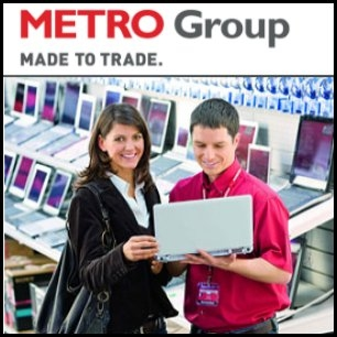 German retailer Metro AG (ETR:MEO) said it will open its first Media Markt outlets in Shanghai, China in 2010. Metro has signed a contract for a joint venture with the Taiwan based Foxconn Technology Group (TPE:2354) to pursue expansion in China. Metro, which will hold 75 per cent in the joint venture, targets over 100 Media Markt outlets in China by 2015.