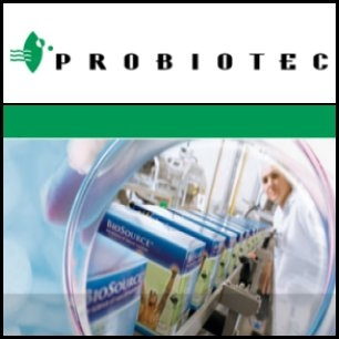 Probiotec Limited (ASX:PBP) said the company has completed the acquisition of all shares in the Australian Dairy Proteins Pty Ltd (ADP) joint venture, which was established between Probiotec and Dairy Farmers Limited for the development and construction of a world-first fractionation plant.