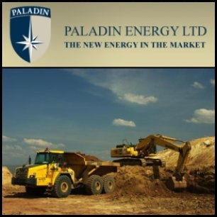 Uranium miner Paladin Energy (ASX:PDN) produced 987,310 pounds of uranium oxide during the December quarter, up from 744,188 pounds in the September quarter. Paladin also posted record quarterly sales of 1.095 million pounds of uranium oxide, generating US$61.9 million in revenue