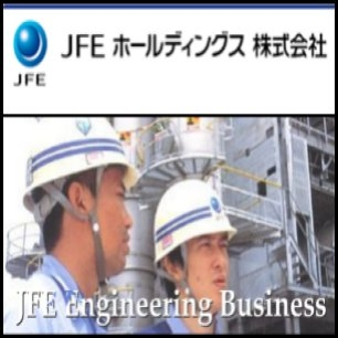 JFE Steel Corp.(TYO:5411) and Marubeni-Itochu Steel Inc. have jointly won a pipeline contract in Australia, making them the only providers of 315 kilometer undersea pipes for the Gorgon Natural Gas Project led by Chevron Corp.