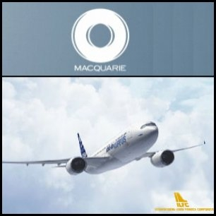 Macquarie Group Limited (ASX:MQG) said that Macquarie Bank Limited (MBL) has entered into an agreement to acquire an aircraft operating lease portfolio International Lease Finance Corporation (ILFC), a subsidiary of American International Group (NYSE:AIG).