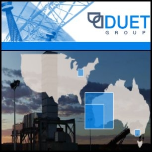 Australian electricity distributor United Energy Distribution, 66 per cent owned by Duet Group (ASX:DUE), raised US$435 million from a private placement to U.S. bond investors.