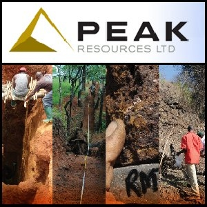 Peak Resources - Letter to Shareholders