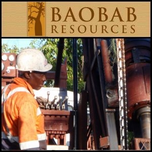 Baobab Resources plc (LON:BAO) Provides a Drilling Update for The South Zone Prospect