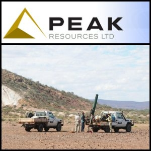 Australian Market Report of August 26, 2010: Peak Resources (ASX:PEK) Rare Earth Results Encouraging