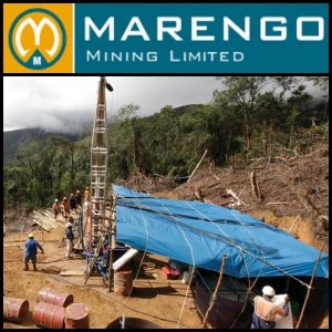 Australian Market Report of October 18, 2010: Marengo Mining (ASX:MGO) Signs Memorandum Of Understanding With China NFC (SHE:000758) For Copper-Molybdenum-Gold Project In Papua New Guinea