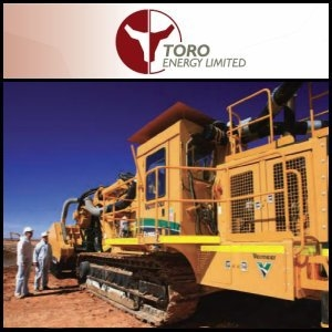 Toro Energy Secures A$12 million Funding