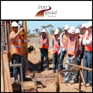 Iron Road Limited (ASX:IRD) Commences Stage VI Drilling Programme At Central Eyre Iron Project