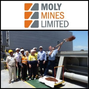 Australian Market Report of December 31, 2010: Moly Mines (ASX:MOL) First Iron Ore Shipment Heads For China