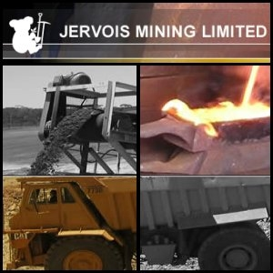 Australian Market Report of February 11, 2011: Jervois Mining (ASX:JRV) Receives Positive Test Report For The Direct Production Of Scandium-Aluminum Alloy