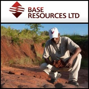 Australian Market Report of February 25, 2011: Base Resources (ASX:BSE) Announce 7.17 Million Tonne Resource Increase At Kwale Mineral Sands Project In Kenya