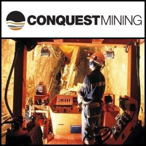 Asian Activities Report for April 18, 2011: Conquest Mining (ASX:CQT) Report Strong Production At Pajingo Gold Mine In The March Quarter