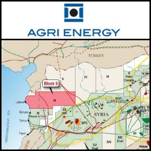 Asian Activities Report for July 25, 2011: Agri Energy Limited (ASX:AAE) Commences Drilling First Well in Syria