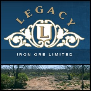 Asian Activities Report for August 4, 2011: Legacy Iron Ore Limited (ASX:LCY) Report Potential Magnetite Resource Increase at Mt Bevan Iron Ore Project