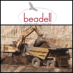 Asian Activities Report for August 29, 2011: Beadell Resources (ASX:BDR) Announce 209Mt Maiden Iron Ore Resource in Brazil