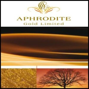 Asian Activities Report for September 14, 2011: Aphrodite Gold (ASX:AQQ) Report Positive Metallurgical Results