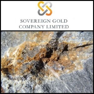 Sovereign bid reaches 98% of Mount Adrah Gold