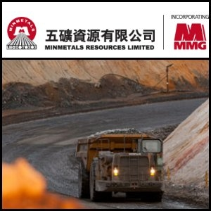 Asian Activities Report for December 13, 2011: Minmetals Resources Limited (HKG:1208) Reports 103.9% Increase in Zinc Ore Reserves