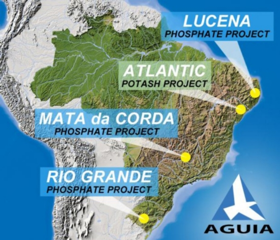Operational Update for Phosphate and Potash Projects in Brazil