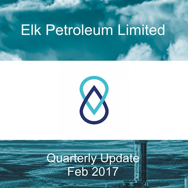 FINANCE VIDEO: Elk Petroleum Boardroom Media Interview with Managing Director Brad Lingo on the Quarterly Update