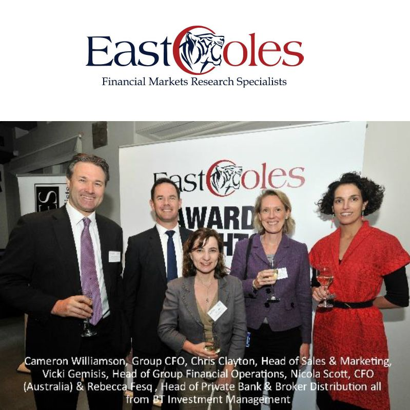 East Coles / Transplant Australia Corporate Performance Awards