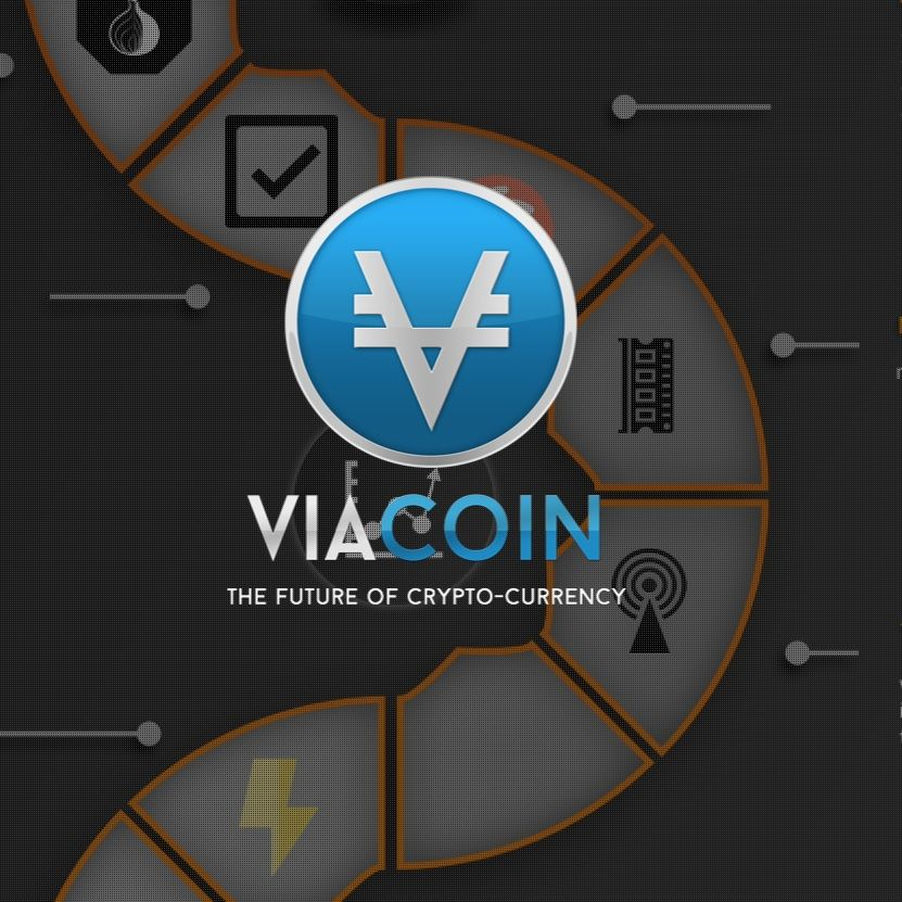 Lists Viacoin (CRYPTO:VIA)