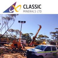 Classic Minerals Ltd (ASX:CLZ) Intersects High Grade Gold 1.2 Kms South Along Strike