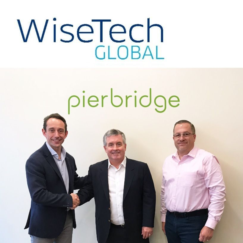 Mark Hall (Deputy CFO, WiseTech Global), Bob Malley (Managing Director, Pierbridge) and Mark Picarello (Chief Operating Officer, Pierbridge)