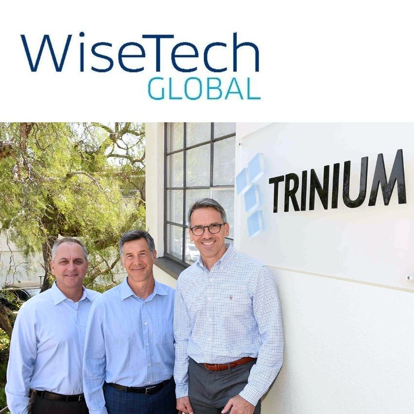 Trinium Technologies' Dennis Lane, Barry Assadi and Michael Thomas