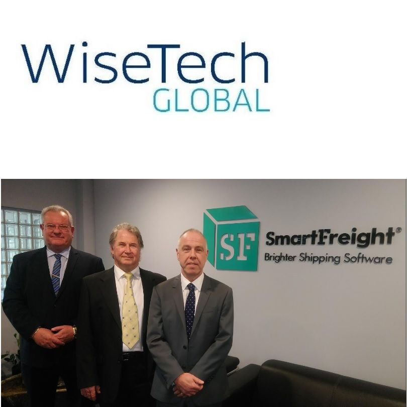SmartFreight Directors Kerry Holmes and Neil Page, and MD Ken Aitken
