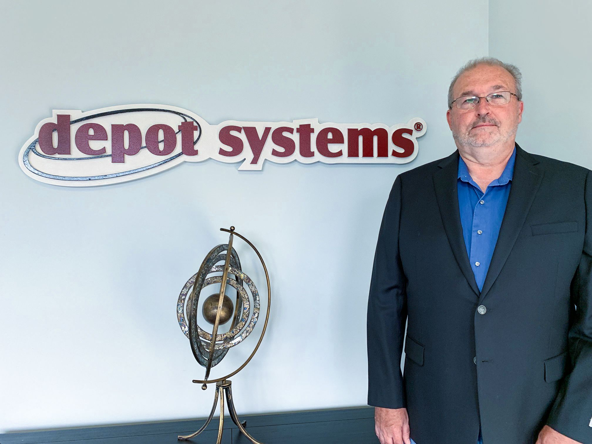 Depot Systems Managing Director, Wally Morris
