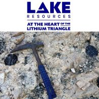 Lake Resources NL (ASX:LKE) Increasing Pilot Plant Samples for Potential Kachi Partners