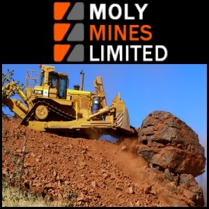 Australian Market Report of September 23, 2010: Moly Mines Limited (ASX:MOL) Spinifex Ridge Iron Ore Project First Shipment on Track