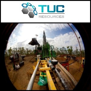 TUC Resources Limited (ASX:TUC), 2011년 9월 희토류 시추 현황